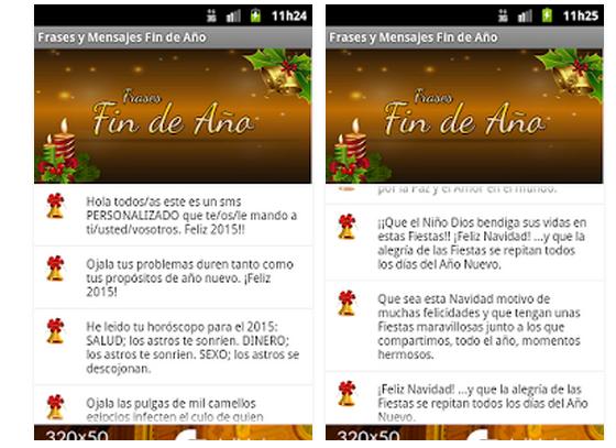 App Móvil Con Frases De Fin Año Y Nochevieja