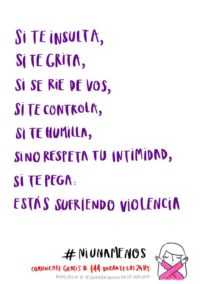 Estados Y Frases Sobre La Violencia De Género